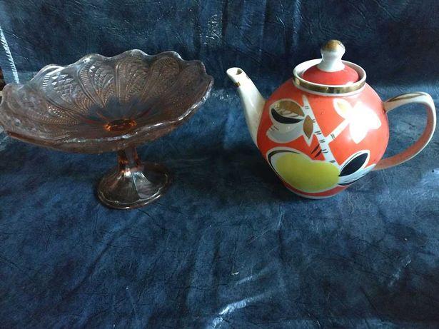 Чайник Яблоко , фруктовница , конфетница