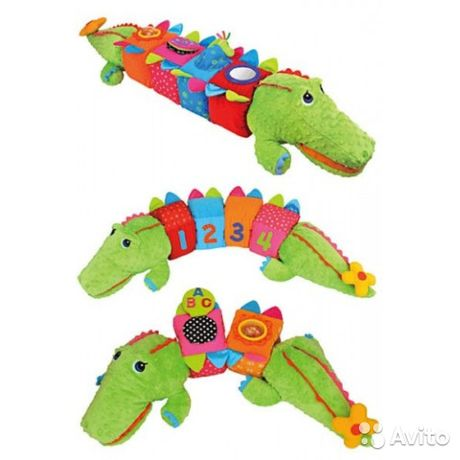 Ks kids Развивающий крокодил
