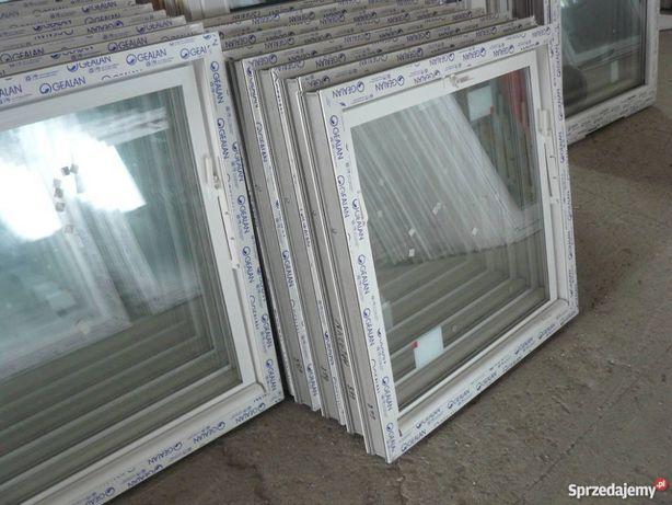 Inwentarskie okna-uchylne,PCV-szyba zespolona BEZ metalu