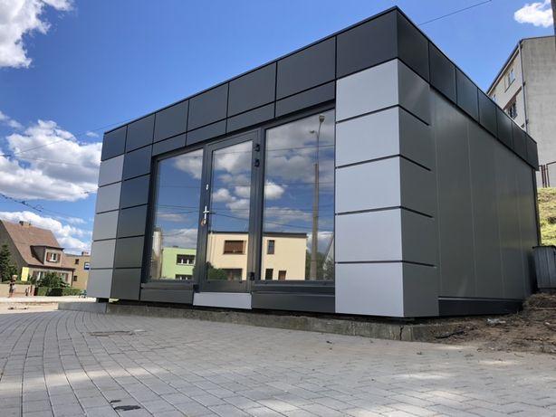 Pawilon 6x5, kontener, biuro, barak, handlowy, gastronomiczny