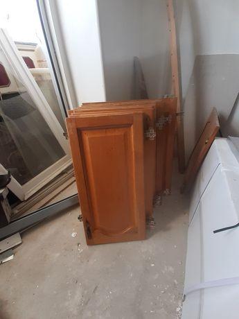 Portas de moveis cozinha madeira