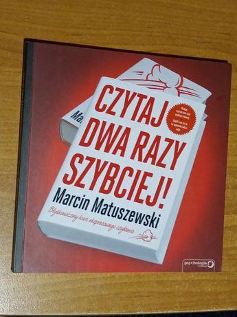 Poradnik Czytaj dwa razy szybciej Marcin Matuszewski