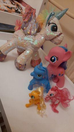 Zestaw kucyków, koniki My Little Pony