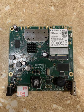 Mikrotik RB912UAG-2HPnD + Huawei LTE ME909