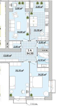 НОВОРІЧНА ціна на 3 кім в ЦЕНТРІ!!! 34 000 дол