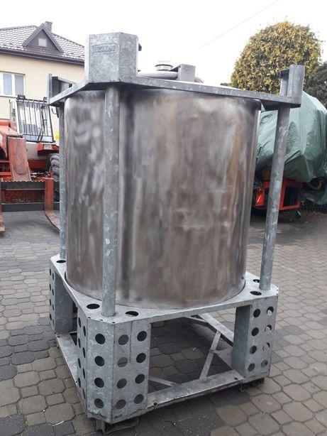 Zbiornik z kwasówki 1000l kwasoodporny