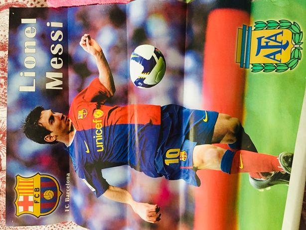 Плакаты Роналду Месси