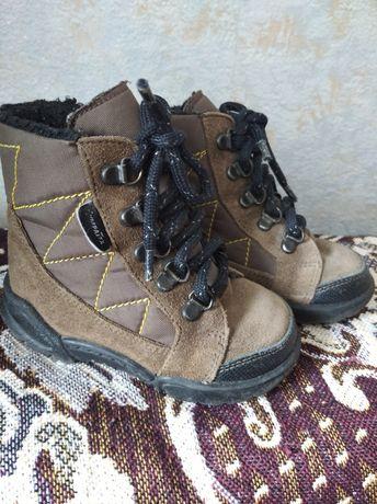 Чобітки, ботинки термо 21 р.