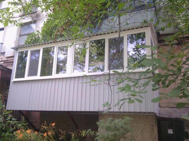 """Металлопластиковые Окна,Двери,Балконы """"ПОД КЛЮЧ"""", РАСШИРЕНИЕ БАЛКОНОВ"""