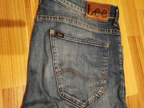 Lee powell spodnie jeansy slim fit 32x34