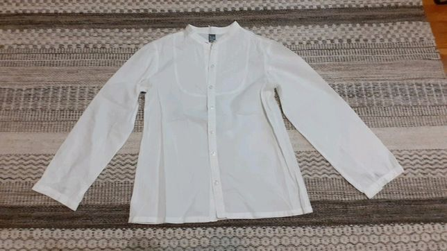 Biała bluzka Zara 146 152 cm