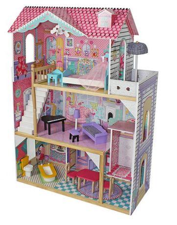 Кукольный домик деревянный Villa Toskana Домик для барби с лифтом