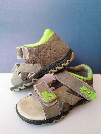 Sandały sandałki IMPIDIMPI rozmiar 22 lato chłopiec 14,50 cm
