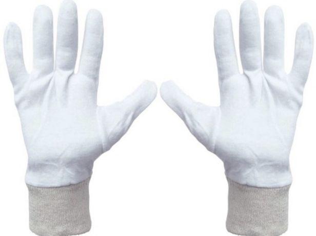 Rękawice/Rękawiczki bawełniane/bawełna Hurt cena za szt 1,50zł.