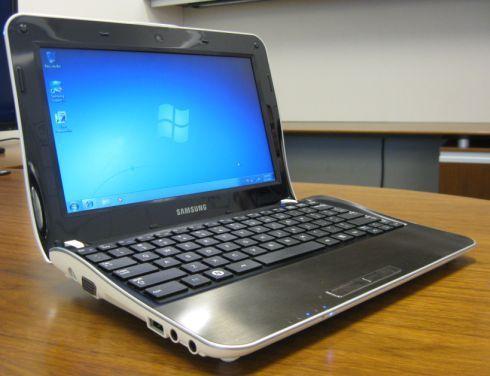 Computador portátil Samsung NF210 netbook notebook pc avaria teclado