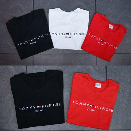 Mega wyprzedaże koszulki męskie i damskie Tommy Hilfiger xs-xxl