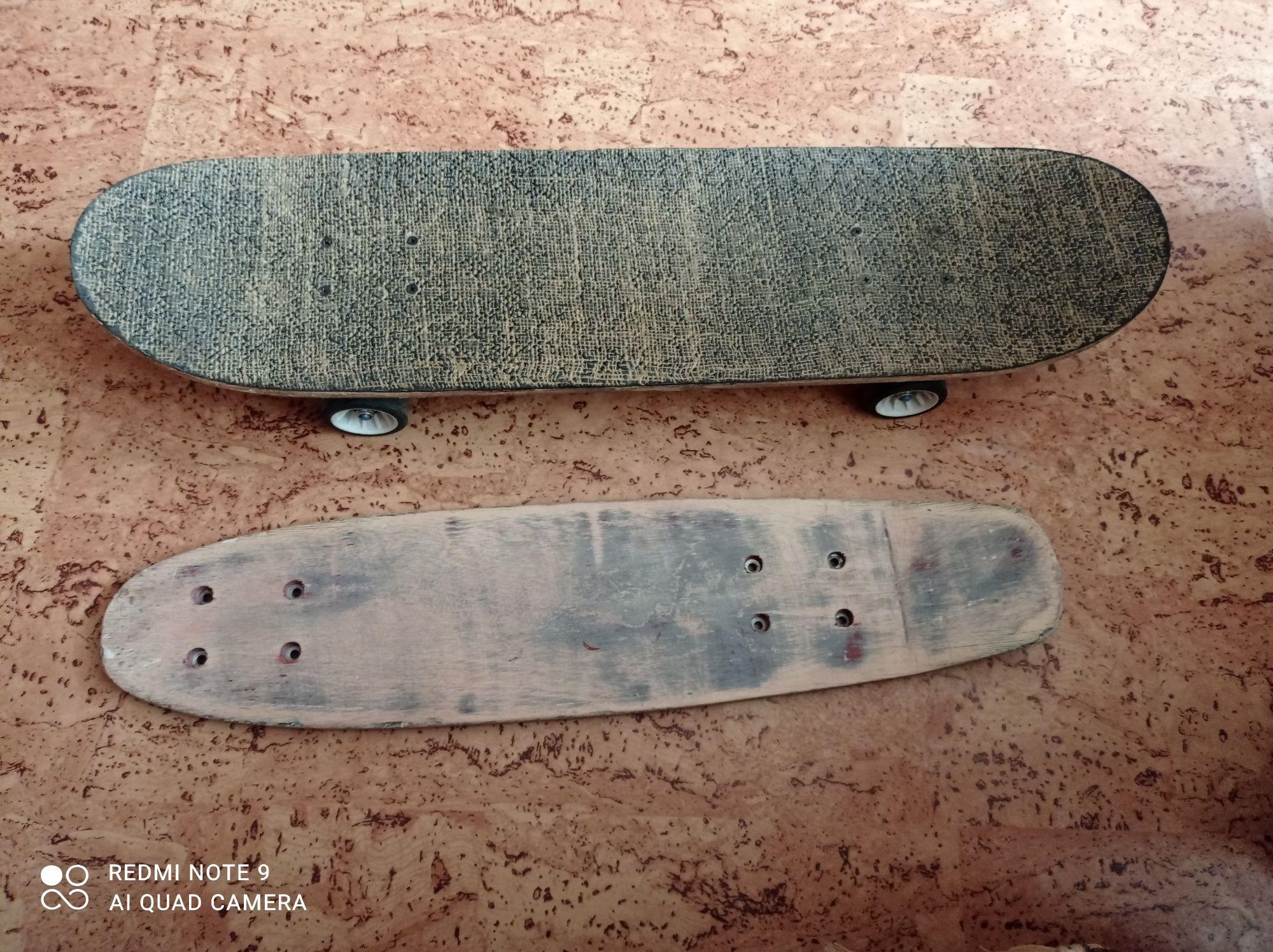 Продам скейт и доску к скейтборду