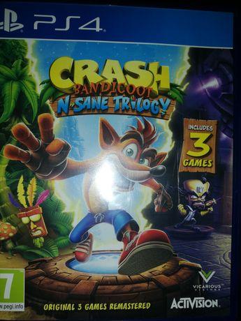 Crash Bandicoot trylogia Ps4