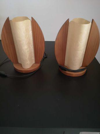 Candeeiros de mesinha de cabeceira