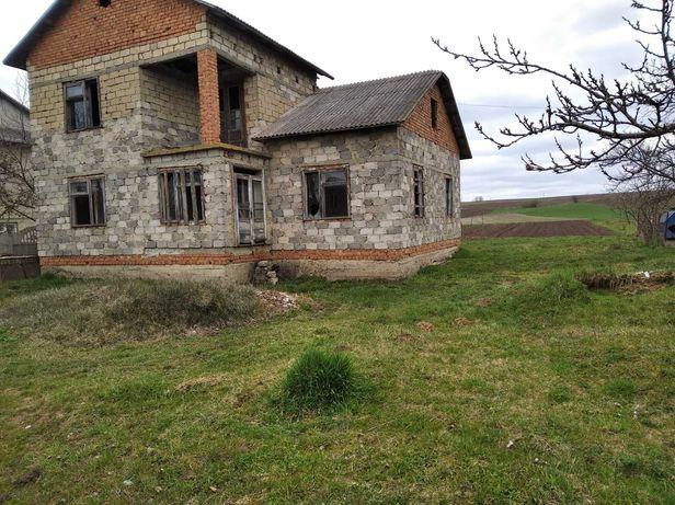 Продам недобудований будинок