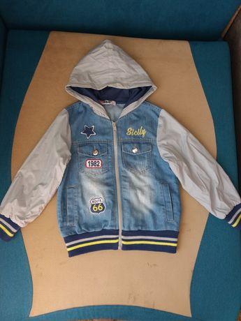 Джинсовий піджачок- курточка