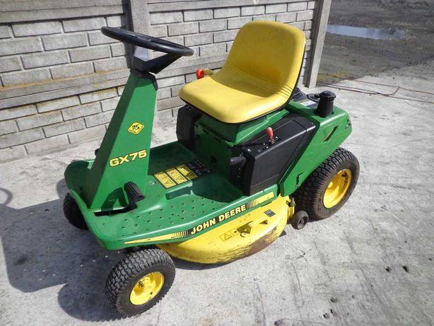 Kosiarka traktorek John Deere GX75 silnik Kawasaki