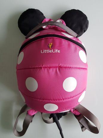 Plecak LittleLife Myszka Minnie różowy