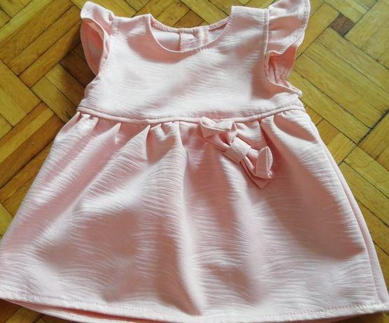 Sukienka łososiowa polecam