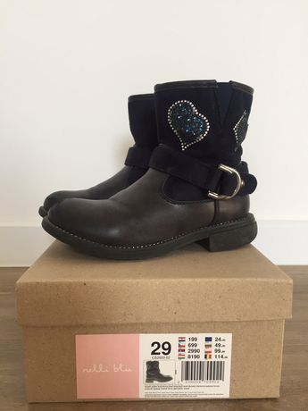 Buty kozaczki Nelli Blu 29