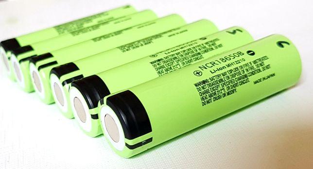 Ogniwa akumulator 18650 NCR18650B Panasonic do latarek