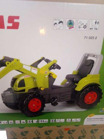 zabawka Traktor na pedały Claas Arion 640