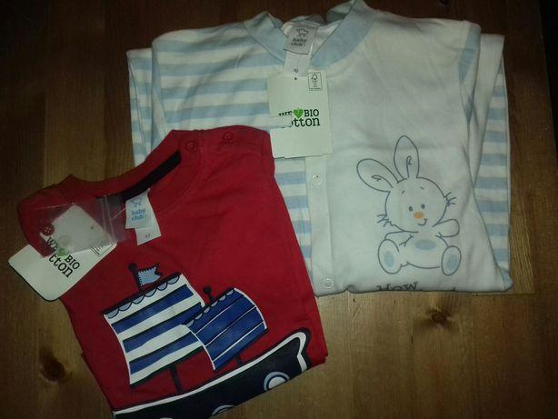Pijama e camisola C&A NOVOS c/etiqueta de algodão Bio. 92cm (18-24)