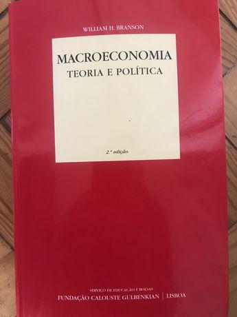 Macroeconomia - Teoria e política