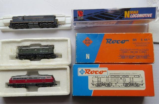 """Comboio electrico escala""""N"""":locomotiva,carruagem,vagão,linha;transform"""
