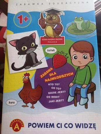 Zabawka edykacyjna powiem Ci co widzę!