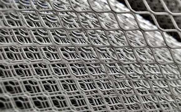 Сетка ПВС (просечно-вятыжная), Перфор. металл, Рифленый лист КВИНТЕТ
