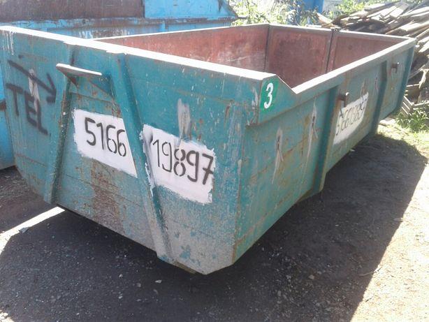 Kontener na gruz, śmieci mieszane, utylizacja, wywóz gruzu, kontynery