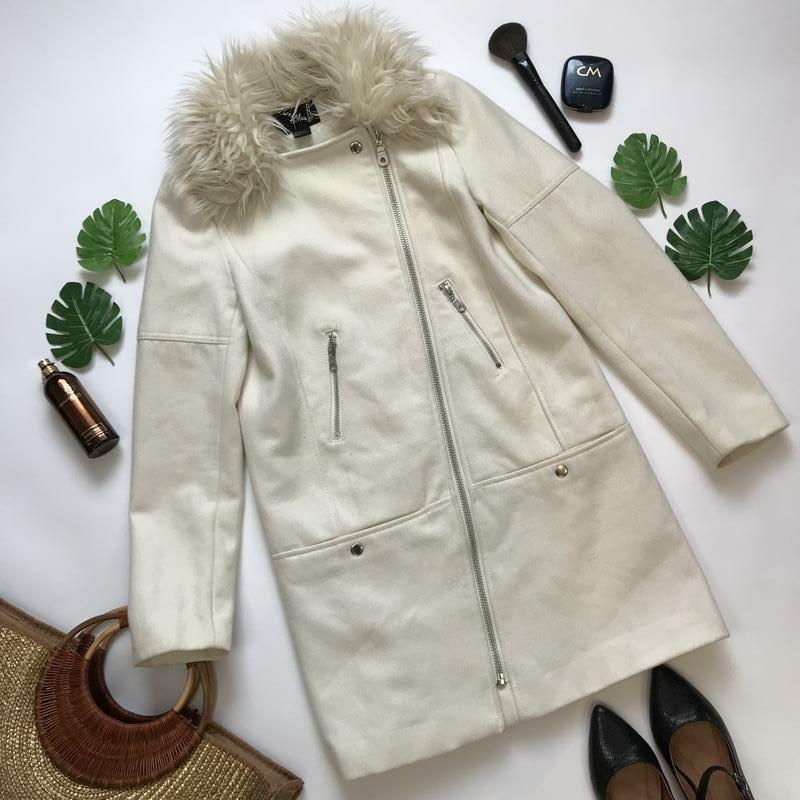 Стильне пальто-косуха от H&M. Размер 50