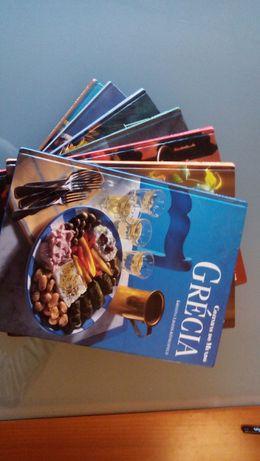 Cozinhas do Mundo - 7 volumes ILUSTRADOS