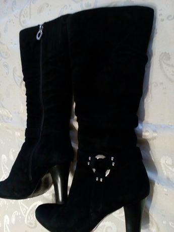 Зимние женские сапоги бренд Ellenka