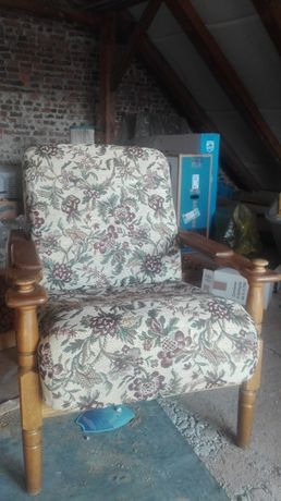 Fotele QUERCUS drewno 4 szt