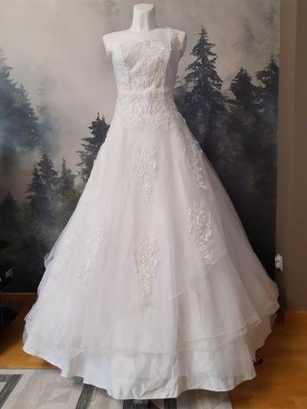 NOWA suknia ślubna- księżniczka