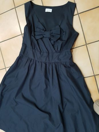 Suknia granatowa