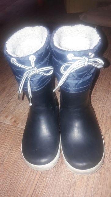 Фирменные резиновые чоботы ,AIGLE