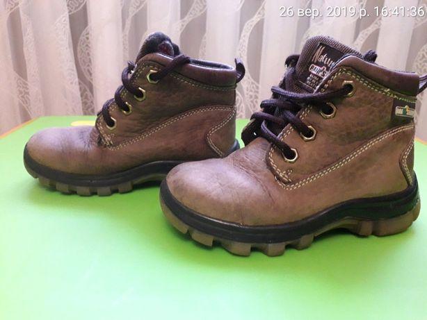 Ботинки кожаные 24 размер обувь взуття мешти ботінки сапоги шкіряні
