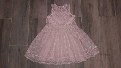 Шикарное кружевное платье NEXT p 116