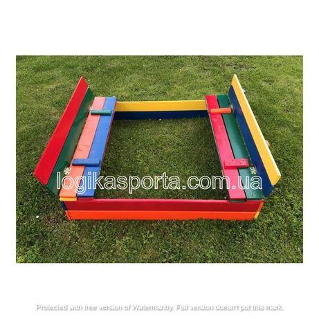 Столик. Песочница с крышкой, песочница, детская игровая площадка