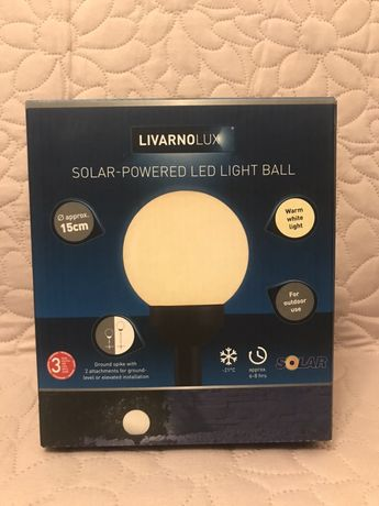 Lampa solarna LED ogrodowa