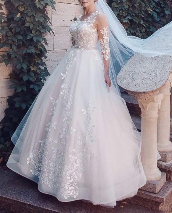 Свадебное платье/ Весільна сукня/ платье для фотосессии Софиевская Борщаговка - изображение 1