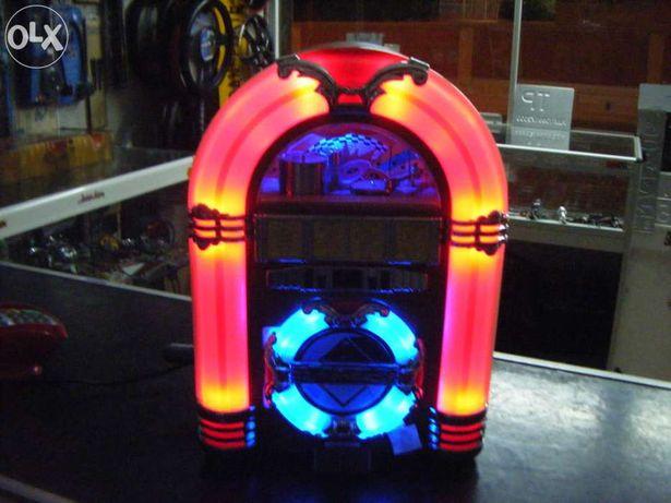 Jukebox USB Rádio Vintage Style